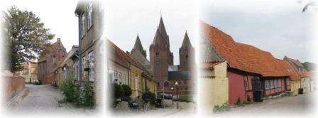 Kalundborg. Middelalderbyen.