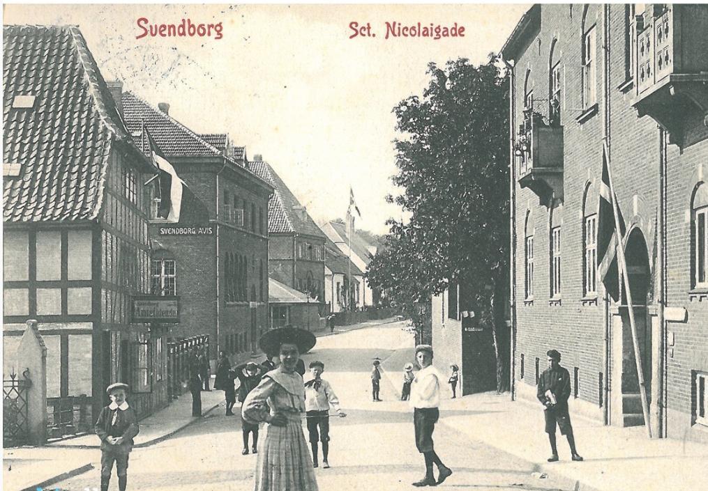 Skt. Nicolaj Gade Svendborg 1905