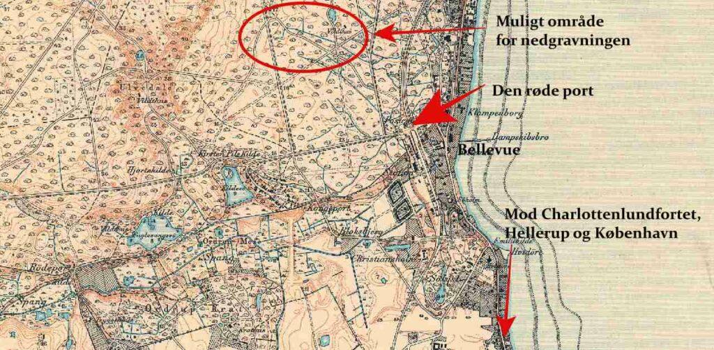 Bellevue og Dyrehaven 1902