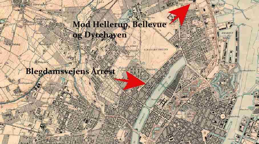 Blegdamsvejens Arrest 1902