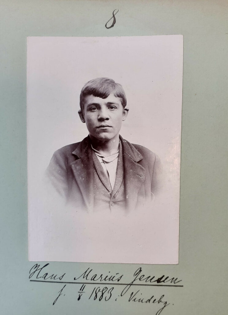 Hans Marius Jensen, 18 år