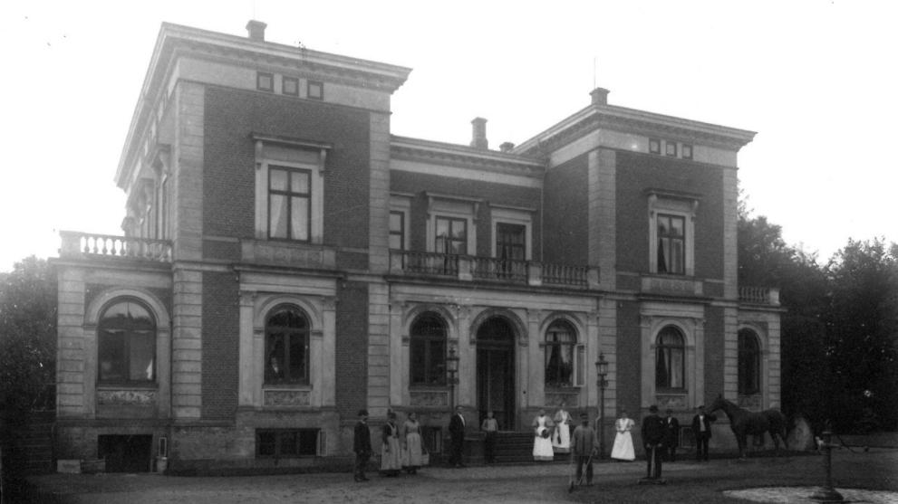 Amtmandens hus i Svendborg 1905