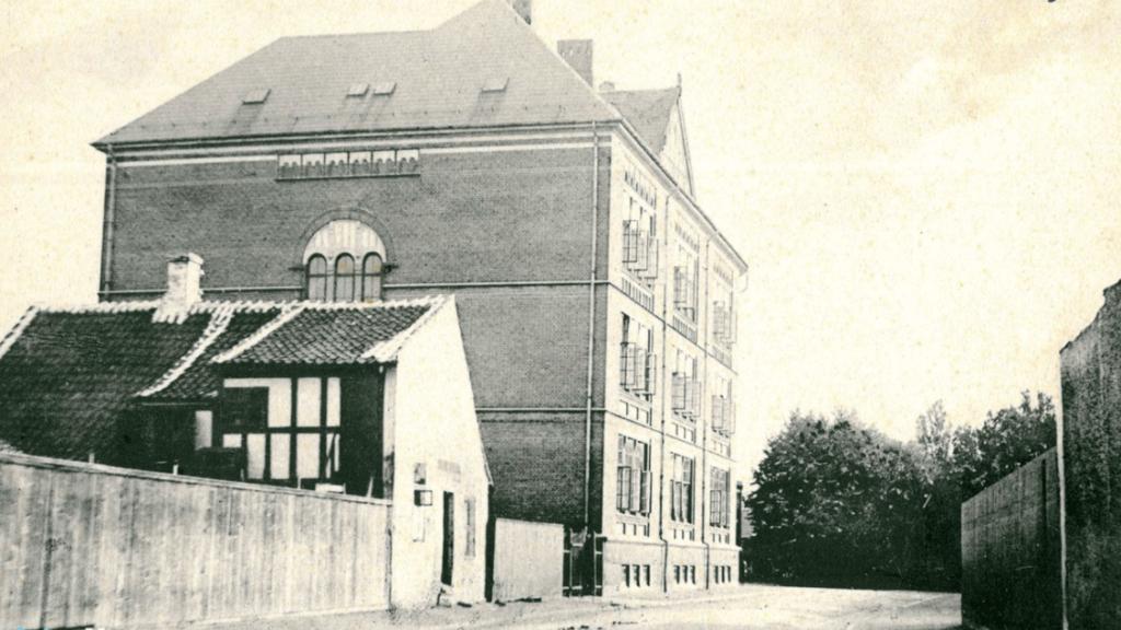 Pigeborgerskolen Svendborg 1901