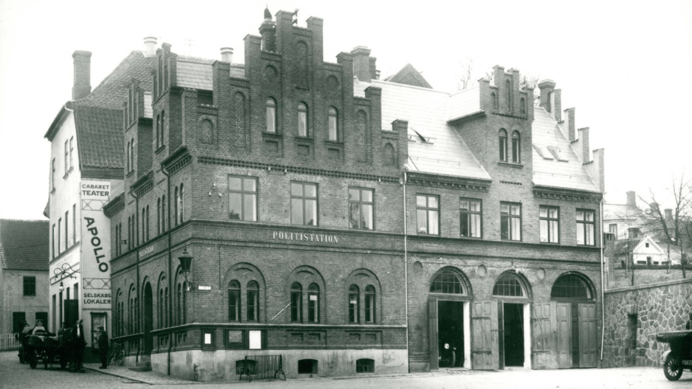 Svendborg politi- og brandstation 1915