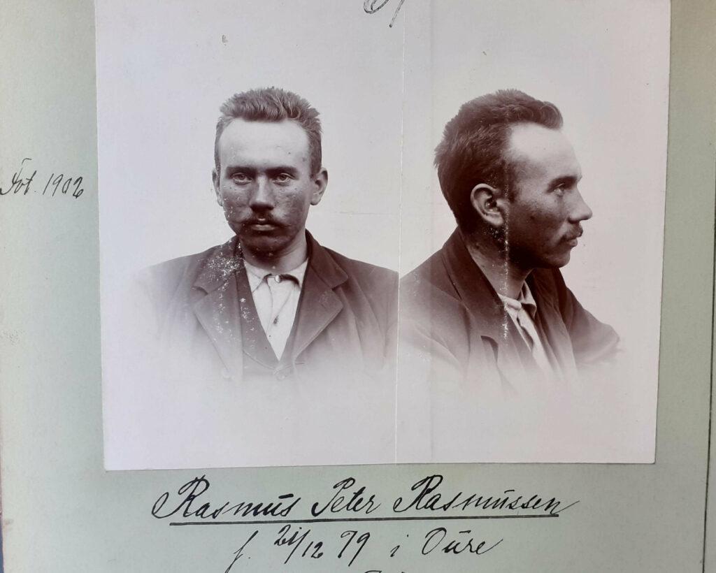 Boretyven Rasmus Peder Rasmussen 1902