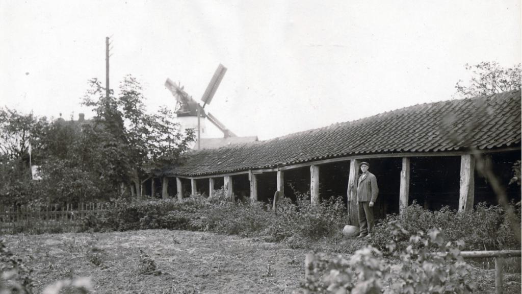 Reberbanen ved Kongebakken 1920