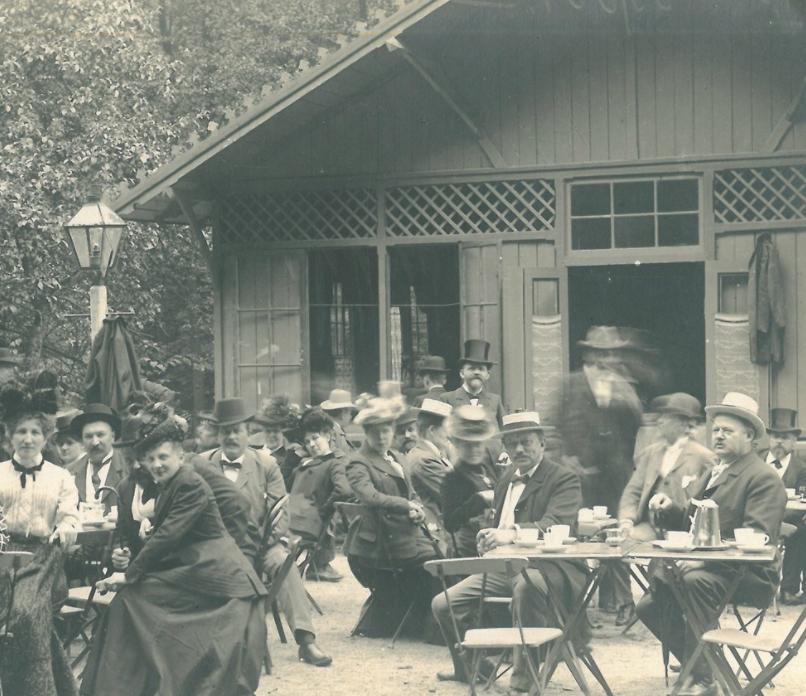 Servering ved Rottefælden 1901