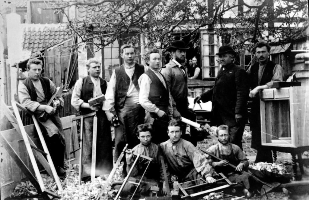 Snedkere Kullinggade 1900