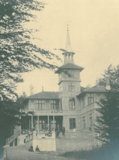 Villa Taarnborg ved Svendborg, 1900